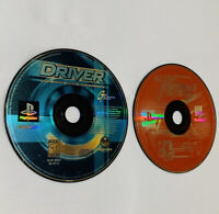 Driver (Sony PlayStation 1, PS1, 1999) + All Star Racing Lot of 2 DISC ONLY
