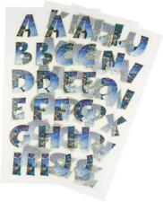 Batman Iron-on Alphabet Letters Transfers DC Comics - Crafts School