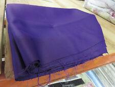 Purple plum soft lined blackout material remnant crafts fabric piece 160x160cm