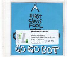 (HN278) Go Go Bot, First Class Fool - 2011 DJ CD