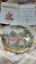 Royal Doulton Pâturage dans la prairie S par John F. Herring Plaque