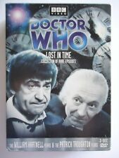 2004 REGION 1 DVD DOCTOR WHO LOST IN TIME COLLECTION  HARNELL TROUGHTON - 3 DISC