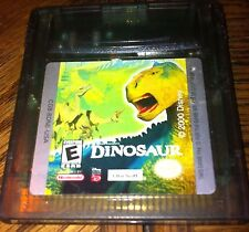 DISNEY'S DINOSAUR GAME BOY COLOR VG SHAPE AND TESTED
