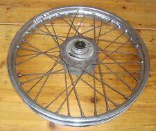 Honda CB 350 + 400 Four_Vorderrad_1.60x18_DID_Rad_Speichen_+_Felge_rostig_wheel