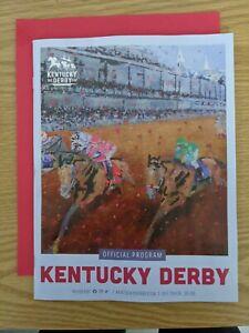 Medina Spirit MINT UNOPENED PROGRAM 2021 Kentucky Derby!!! Churchill Downs