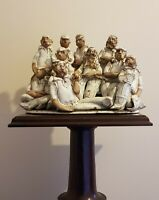 Cricket Team, Edwardian. Marie whitby Studio Art Pottery. Very Rare Collectible