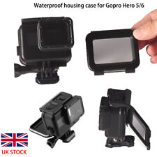 Black 60m Diving Waterproof Housing Case Cover Protective Shell for Gopro Hero 7