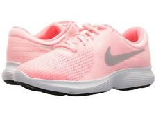 Nike Girls Sneakers Pink Arctic Punch/Metallic Silver/White Youth Girls Size 4 M