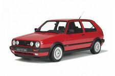 Otto MOBILE G019 VW GOLF GTI G60 RESINA MODELLO ROAD CAR RED BODY LTD ED 1:12 TH