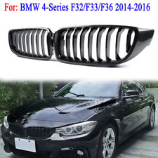 For BMW 4 Series F32 F33 F36 M4 2014-2016 Carbon Fiber Look Kidney Grille Grill