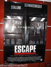 "Escape Plan {Schwarzenegger, Stallone} 40""X27"" OS Orig. Movie Poster 2013"
