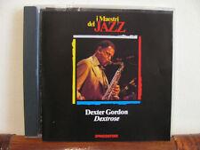 DEXTER GORDON dextrose-CD-Maestri del Jazz-De Agostini-fino 2 cd spese sped.fiss