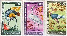 MAURITANIA MAURETANIEN 1967 304-06 C60-62 Local Birds Einheimische Vögel MNH