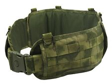 Tactical belt Pouch molle  MULTICAM atacs fg Modular paintball vest airsoft