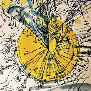 ADELHEID EICHHORN Grafik kolorierte Radierung, 2001