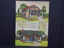 Houses, Homes, American Builder c.1927, One Double Sided Print #13