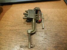 Stanley Defiance Clamp On Bench Vise w/ Anvil #1207 Jewelers Gunsmith etc.