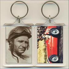 F1 Champions. 1951 Juan Manuel Fangio. Keyring / Bag Tag.