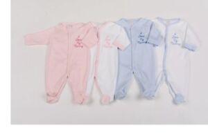Baby Sleep suit Baby Grow I love My Mummy Boys Girls Pink Blue 0-3, 3-6, 6-9mth