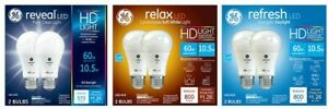 GE HD+ and LED Light Bulb High Definition A19 and More Coose Yours!