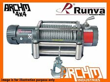 RUNVA EWX 12000LB 24V WITH STEEL CABLE ELECTRIC RECOVERY WINCH