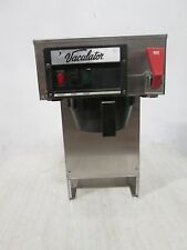 """""""Vaculator"""" H.D. Commercial Automatic/Pour-Over Coffee Brewer w/Hot Water Spigot"""