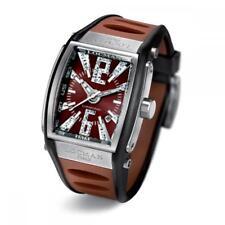 Orologio LOCMAN TREMILA Diamond 026100BNNID5BKN Diamanti Silicone Marrone