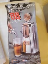 Godinger Nascar Vintage Drink Dispenser, Chrome