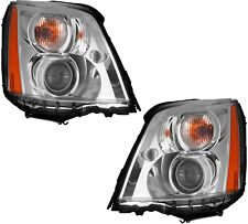 HID Headlights Headlight Assembly w/Ballast Pair Set for 06-11 Cadillac DTS