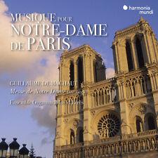 Guillaume De Machaut : Musique Pour Notre-Dame De Paris CD (2019) ***NEW***