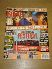 NME 2006 JUN 17 KAISER CHIEFS THOM YORKE GUNS N ROSES