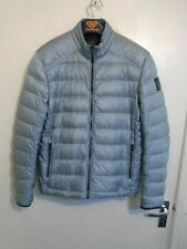 BELSTAFF DOWN QUILTED JACKET SIZE 52 OR UK M