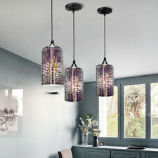 1pc Ceiling Light 3D Fireworks Lamp Glass Pendant Lamp Chandeliers Fixtures E27