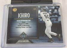 Ichiro Hbp Career Milestone 1/1 Card 2016 Seattle Mariners