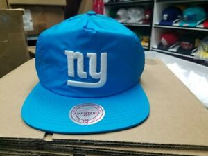 Mitchell & Ness NFL New York Giants Old School Logo Neon Retro Snapback Cap Hat