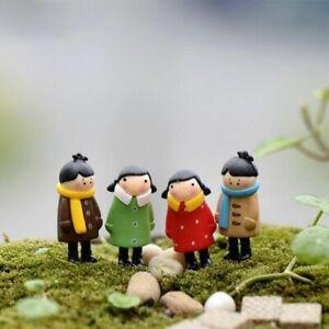 Lovers Figurine Garden People Statue Miniature Ornaments Resin Micro Landscape