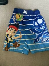 boys 2T disney bathing suit bottoms Jake And The Neverland Pirates