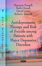 Antidepressants Therapy & Risk of Suicide Among Patients with Major Depressive D
