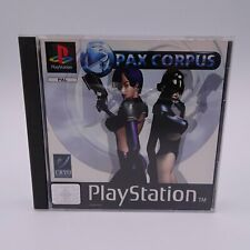 Pax Corpus Sony Playstation 1 PS1 PAL Spiel Game Kahlee Söldnerin Oz Nama