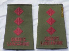 DISTINTIVO DI GRADO : Capitano, Queens Lancashire, Oliva