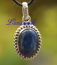 Ethno Silberanhänger mit lLapis Lazuli  Anhänger in 925 Silber