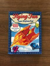 Flying Fun Paper Airplane Pad 100 sheets