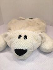Vguc-Htf-23� Jay At Play Mushable Microbead Mushabelly White Polar Bear Pillow