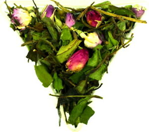 White Peony Pink Rose Scented White Tea Organic Healthy Relaxing Our Own Blend