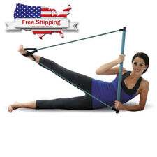 Empower Pilates Resistance Band Toning Bar Home Gym Total Body Workout Yoga A10
