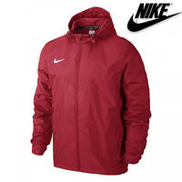 Nike Junior Jacket Boys Waterproof Coat Windproof Sports Running Size S M L XL