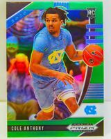 COLE ANTHONY RC 2020-21 Green Prizm Draft Picks Rookie Card #9 Orlando Magic SP