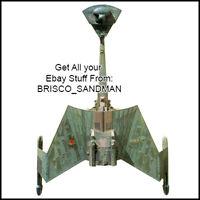 Fridge Fun Refrigerator Magnet STAR TREK SHIP Klingon Battlecruiser -A- Diecut
