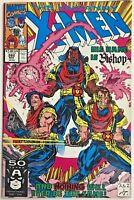 UNCANNY X-MEN#282 VF 1991 FIRST BISHOP MARVEL COMICS