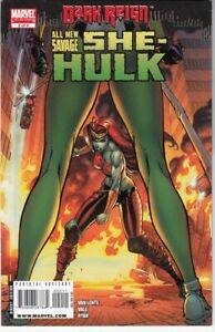 All New Savage She-Hulk #2 NM- (2009) J Scott Campbell Cover Dark Reign Tie-In